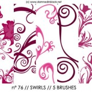Link toSwirls photoshop brushes