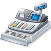 Link to3d cash register elements vector