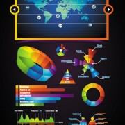 Link toWebsite of business infographics 01 vector