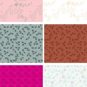 Link toDecorative pattern background pattern 1 vector graphic