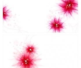 Purple dream flower background