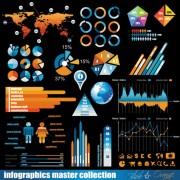 Link toTrade data elements vector graphic