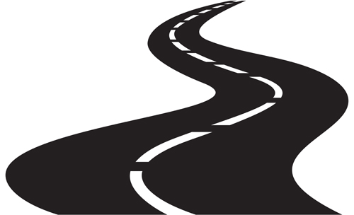 Different Road design vector 01