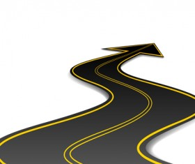Different Road design vector 02