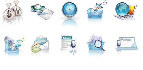 Vista style icon 1 vector