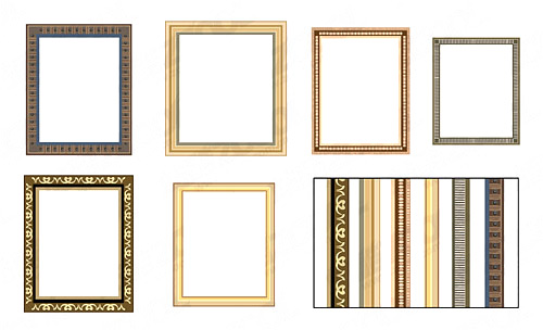 All Kinds Of Frame 2 Vector Free Download
