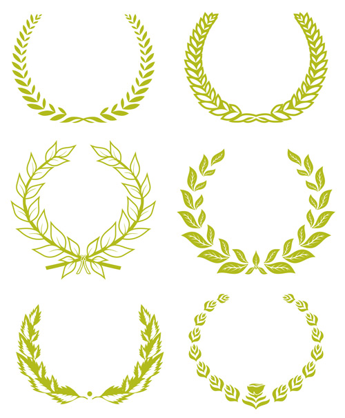 Wheat tree vector vector frames amp borders free download