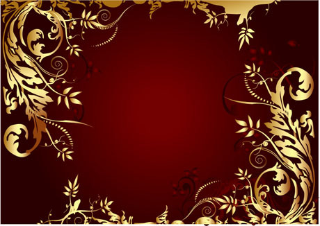 df96573a58e Elegant gold-colored decorative frame vector free download