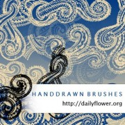 Link toHandrawn swirls photoshop brushes
