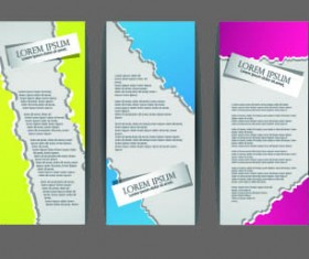 Brochures and flyers abstract cover vector 01