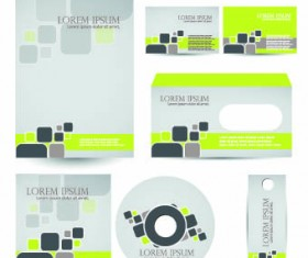 Brochures and flyers abstract cover vector 05