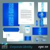 Corporate Identity Kit vector Templates 03