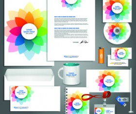 Vector Corporate identity template kit 01