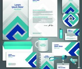 Vector Corporate identity template kit 02