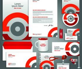 Vector Corporate identity template kit 03