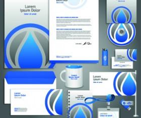 Vector Corporate identity template kit 04
