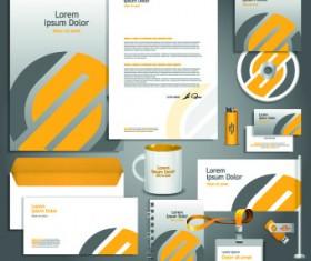 Vector Corporate identity template kit 05