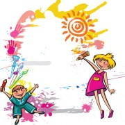 Link toCute kids design vector 03