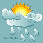 Link toCute weather elements vector 03
