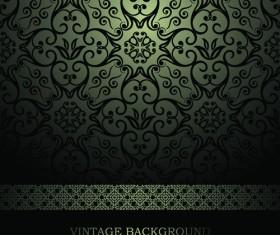 luxurious Damask Patterns background 03