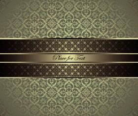 luxurious Damask Patterns background 04