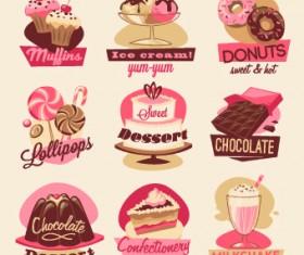 Vintage food Logo vector 01
