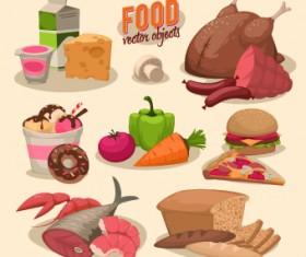 Vintage food Logo vector 03