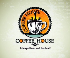 Coffee house menu cover vector 01