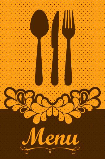 Vintage menu covers ve...