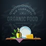 Link toVector organic food backgorunds 01