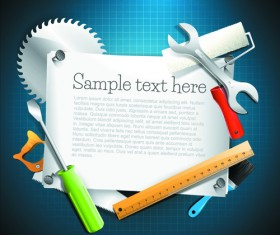 Message Board and Carpentry Tools Backgrounds 03