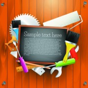 Link toMessage board and carpentry tools backgrounds 04
