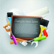 Link toMessage board and carpentry tools backgrounds 05