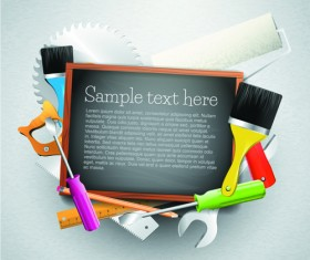 Message Board and Carpentry Tools Backgrounds 05