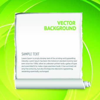 Torn paper vectors backgrounds 05