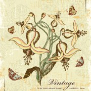 Link toVintage garbage background vector 04