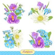 Link toVivid flowers vector art 01