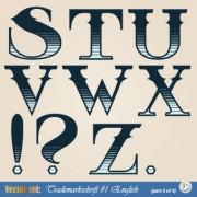 Link toRussian alphabet with numbers vector 07