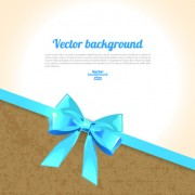 Link toBeautiful bow with background vector 03