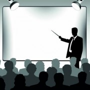 Link toBusiness presentation vector silhouettes 01