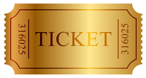 free printable golden ticket template – Ticket Design Templates Free Download