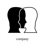 Link toCreative humans head design elements 05