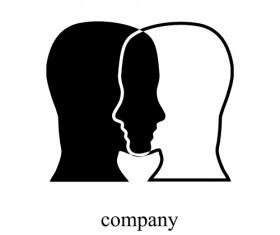 Creative Humans head design elements 05
