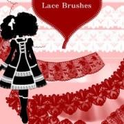 Link toLace photoshop brushes