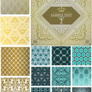 Link toDecorative pattern cloth background vector