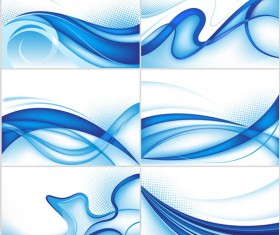dynamic lines background vector material