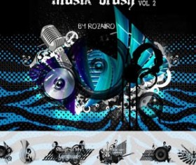 Musik Photoshop Brushes