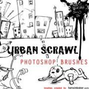Link toUrban scrawl photoshop brushes