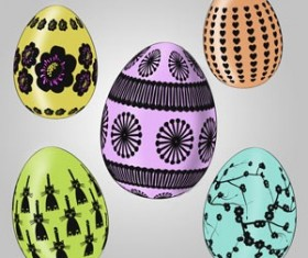 Easter eggs Photoshop Brushes