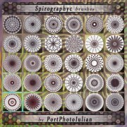 Link toSpirography flowers photoshop brushes